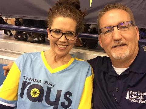 Rays Game 2017